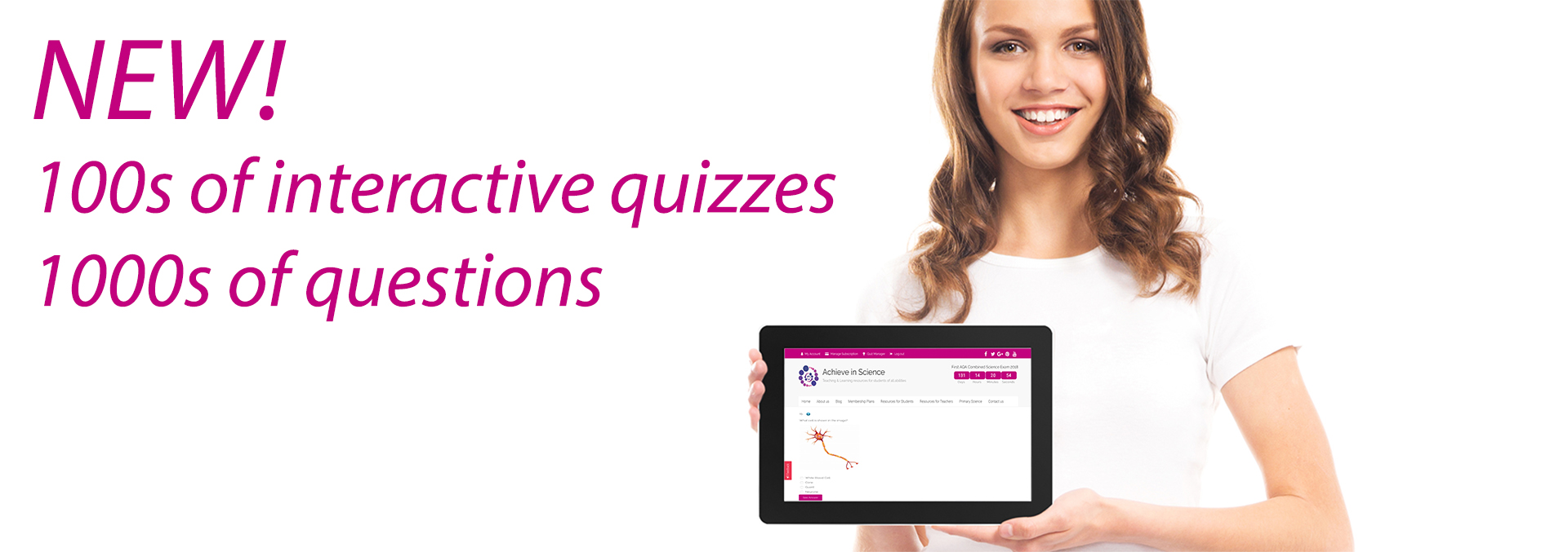 New! Interactive Quizzes